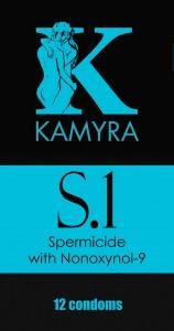 Kamyra S.1 spermicide, front side